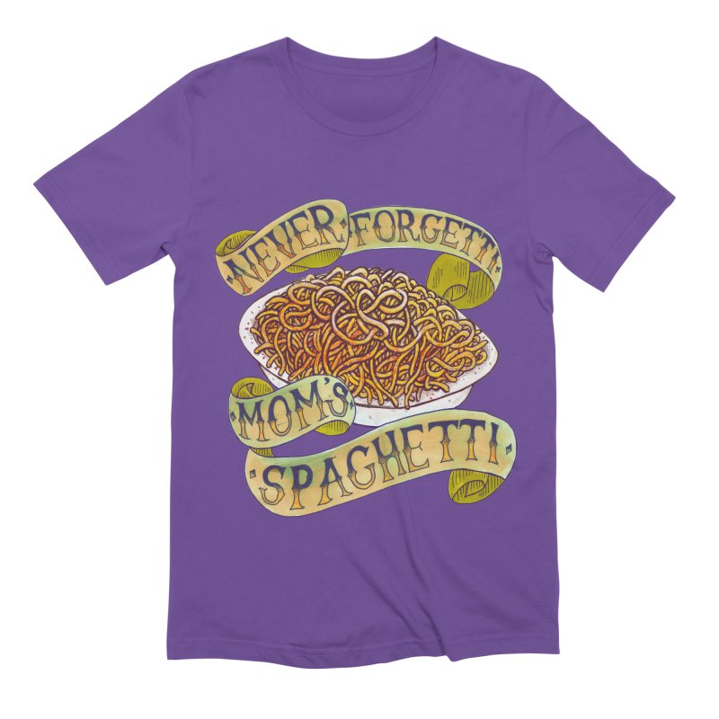 Never Forgetti Mom's Spaghetti Men's Extra Soft T-Shirt by miskel's Shop