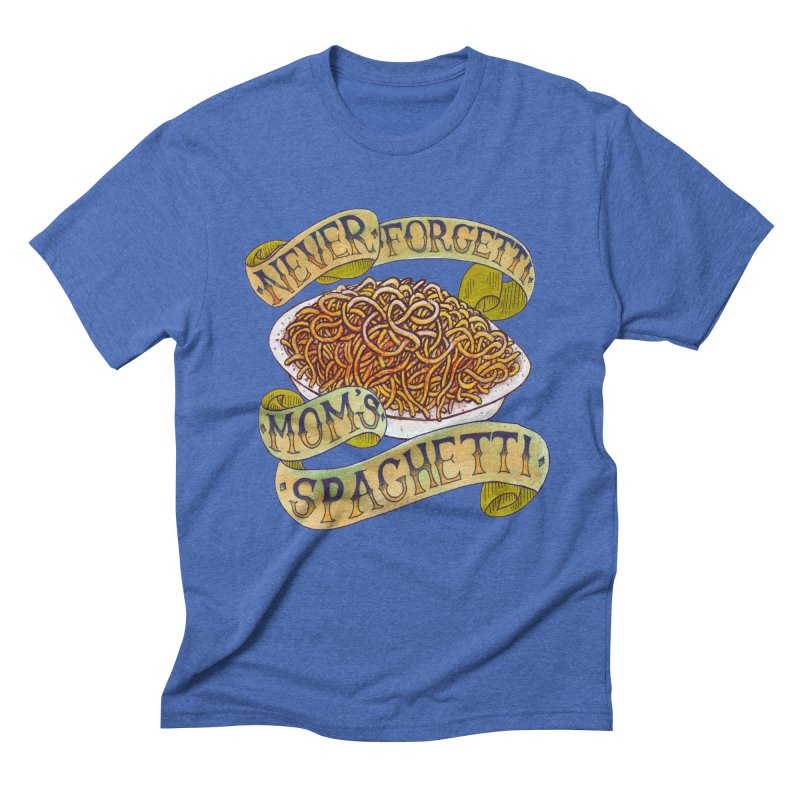 Never Forgetti Mom's Spaghetti Men's T-Shirt by miskel's Shop