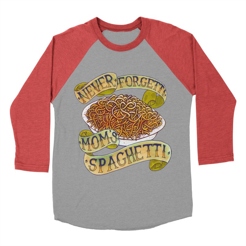 Never Forgetti Mom's Spaghetti Men's Longsleeve T-Shirt by miskel's Shop