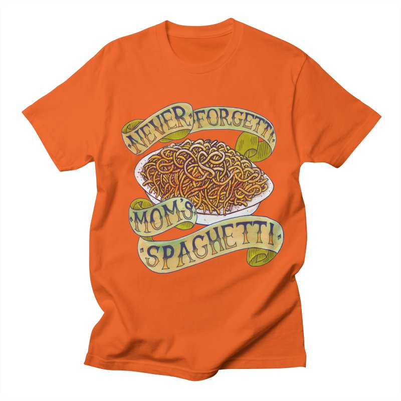 Never Forgetti Mom's Spaghetti Men's Regular T-Shirt by miskel's Shop