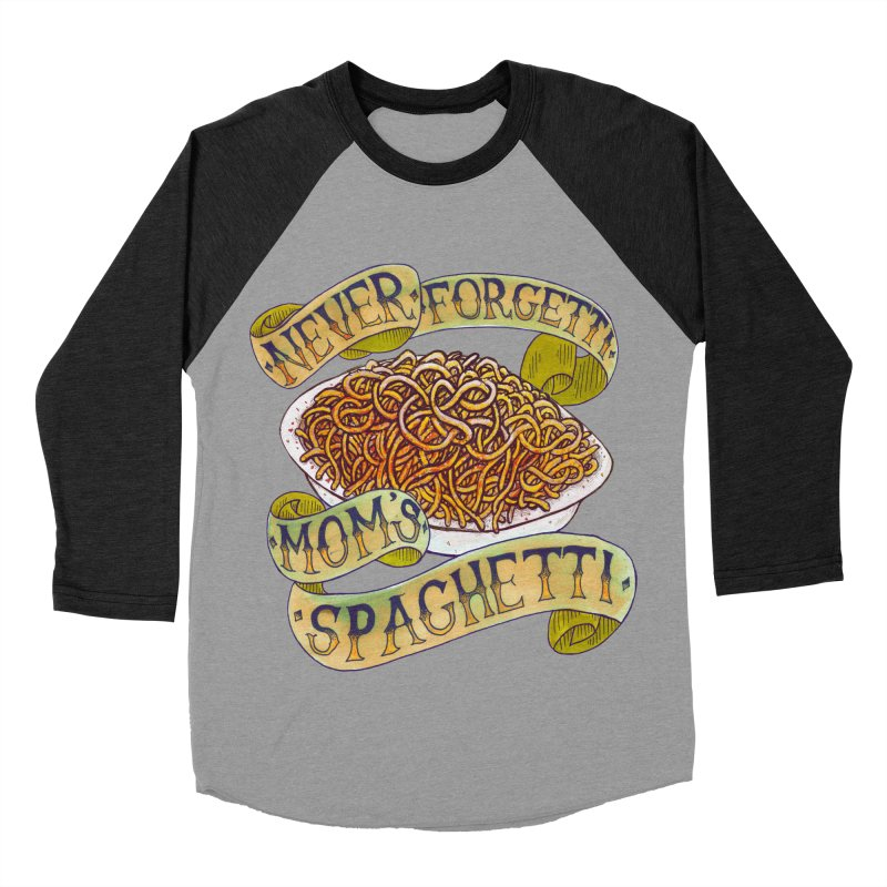 Never Forgetti Mom's Spaghetti Women's Baseball Triblend Longsleeve T-Shirt by miskel's Shop