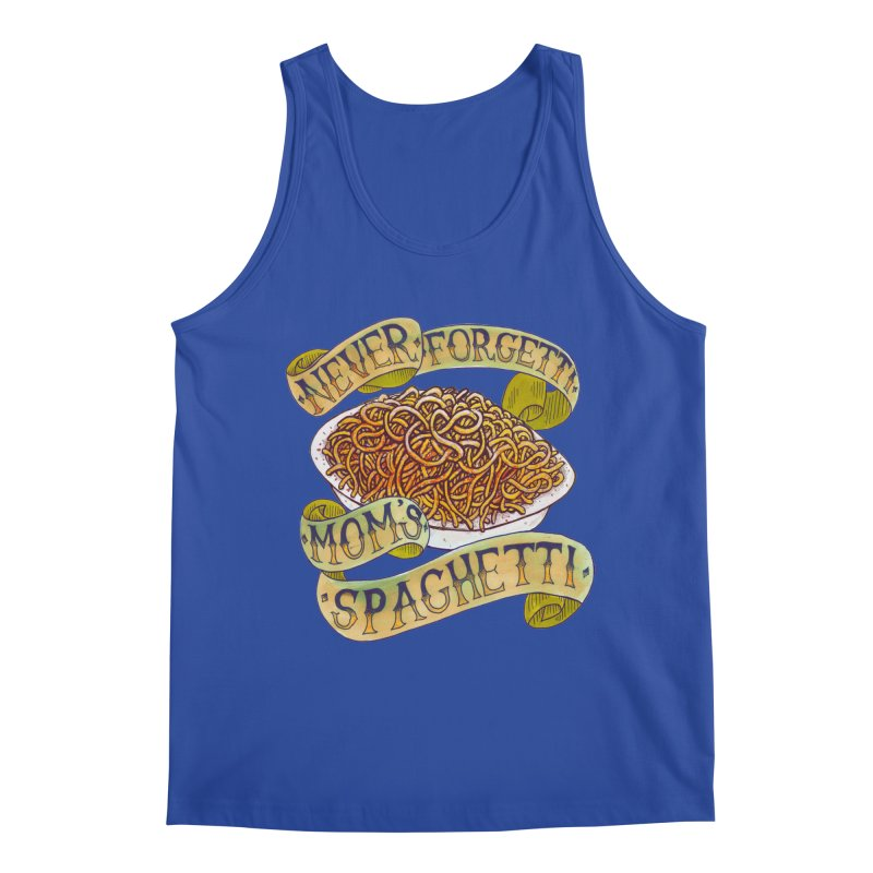 Never Forgetti Mom's Spaghetti Men's Regular Tank by miskel's Shop