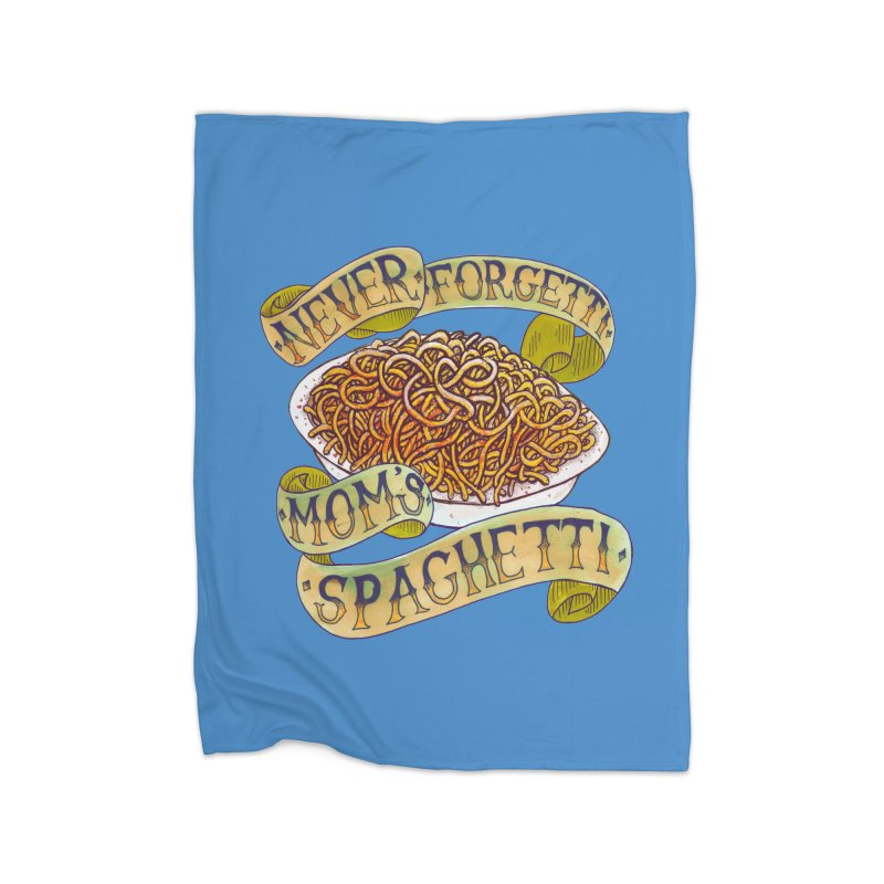 Never Forgetti Mom's Spaghetti Home Blanket by miskel's Shop