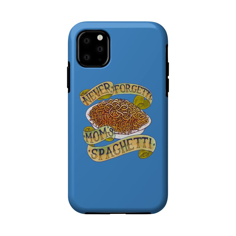 Never Forgetti Mom's Spaghetti Accessories Phone Case by miskel's Shop