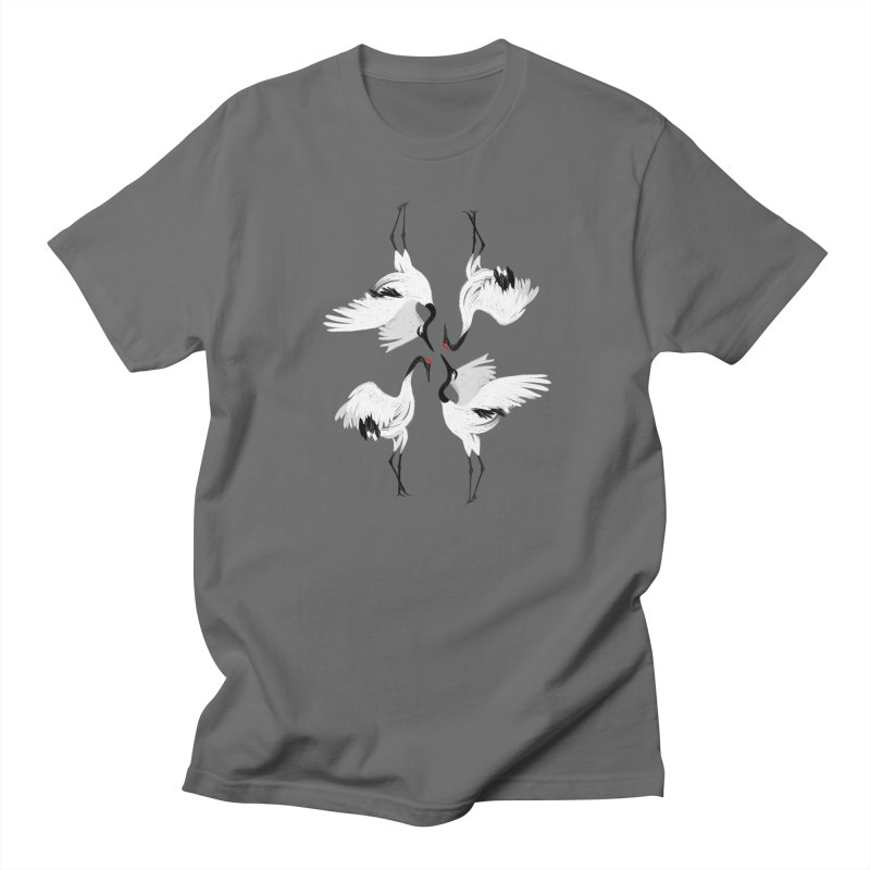 Crane Ballet Men's T-shirt by MissabeeART