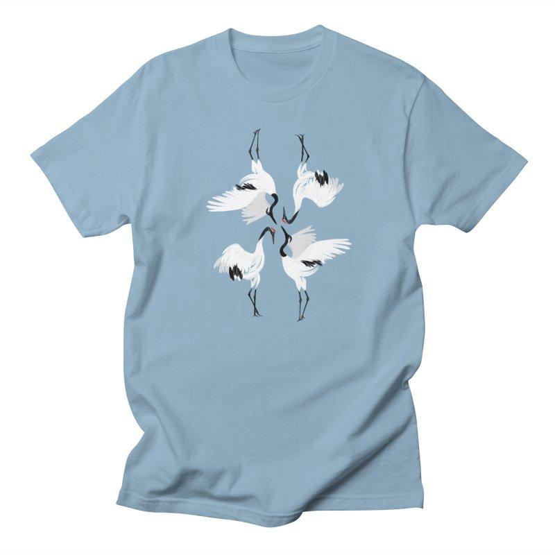 Crane Ballet Women's Unisex T-Shirt by MissabeeART