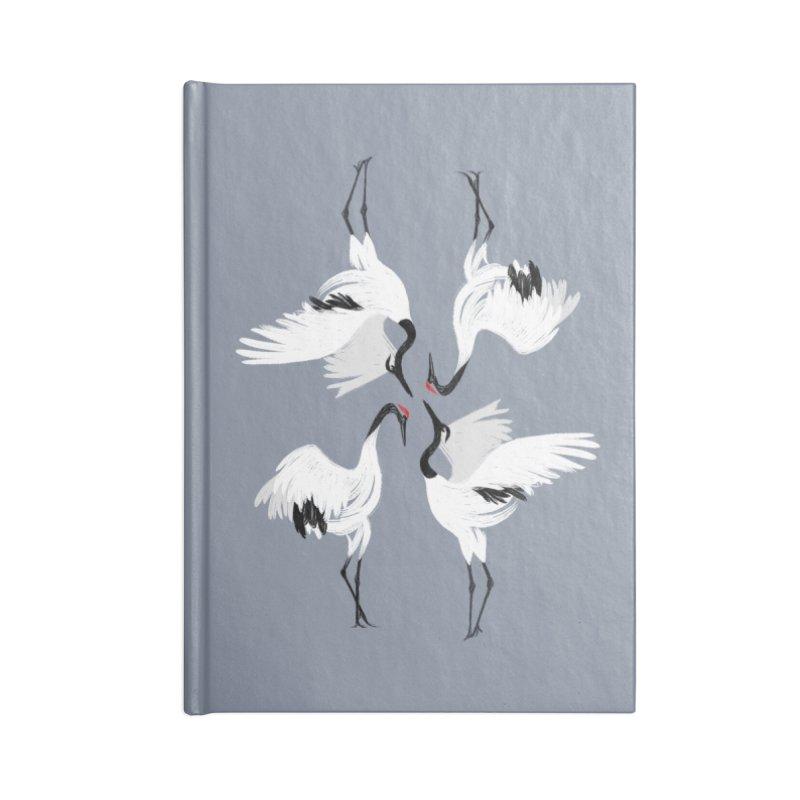 Crane Ballet Accessories Notebook by MissabeeART
