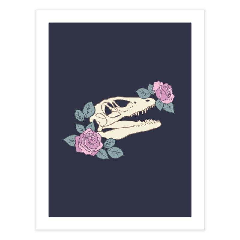 Skull Garden Home Fine Art Print by MissabeeART