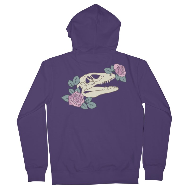 Skull Garden Women's Zip-Up Hoody by MissabeeART