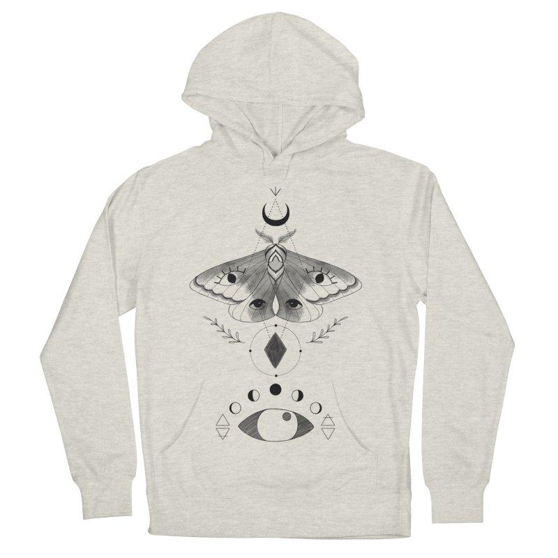 Mystic Moth Women's Pullover Hoody by MissabeeART