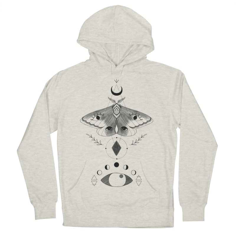 Mystic Moth Men's Pullover Hoody by MissabeeART
