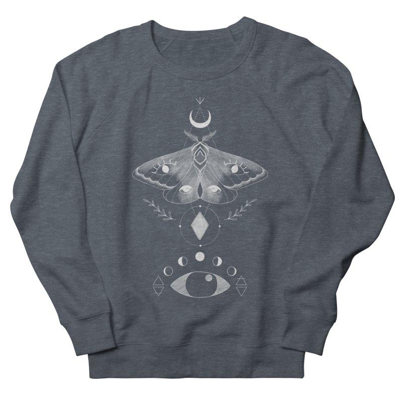 Mystic Moth - Black Women's Sweatshirt by MissabeeART