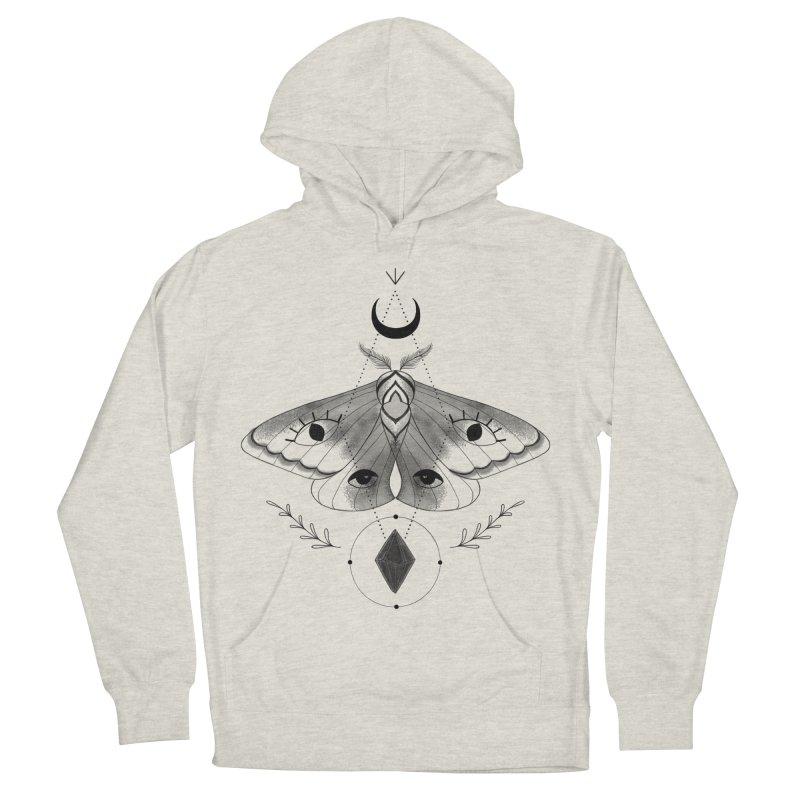 Mystic Moth V2 Women's Pullover Hoody by MissabeeART
