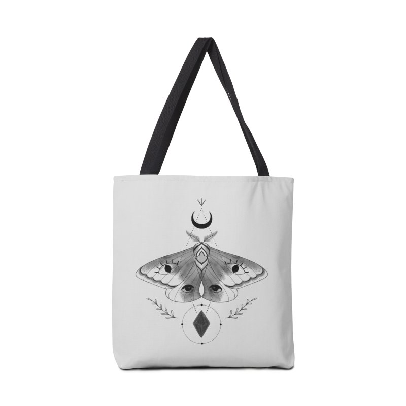 Mystic Moth V2 Accessories Bag by MissabeeART