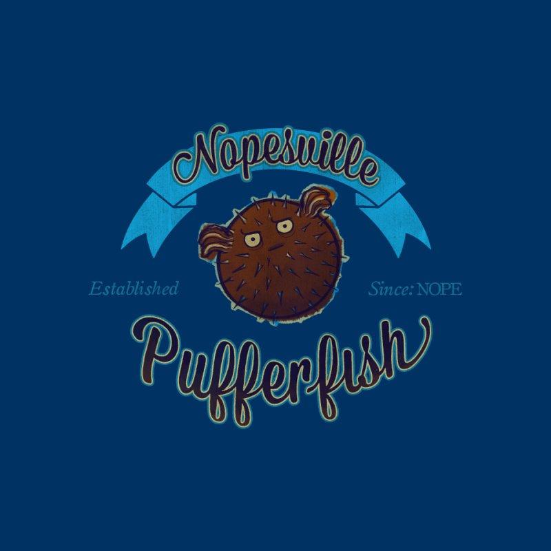 Nopesville Pufferfish None  by MissabeeART