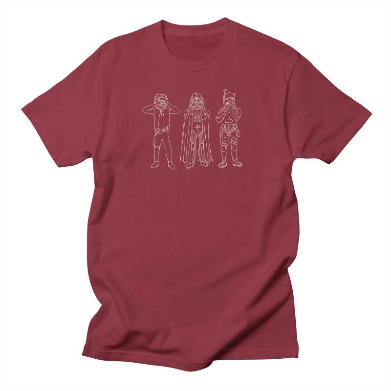 Star Wars No Evil Men's T-Shirt by Miss Jackie Creates