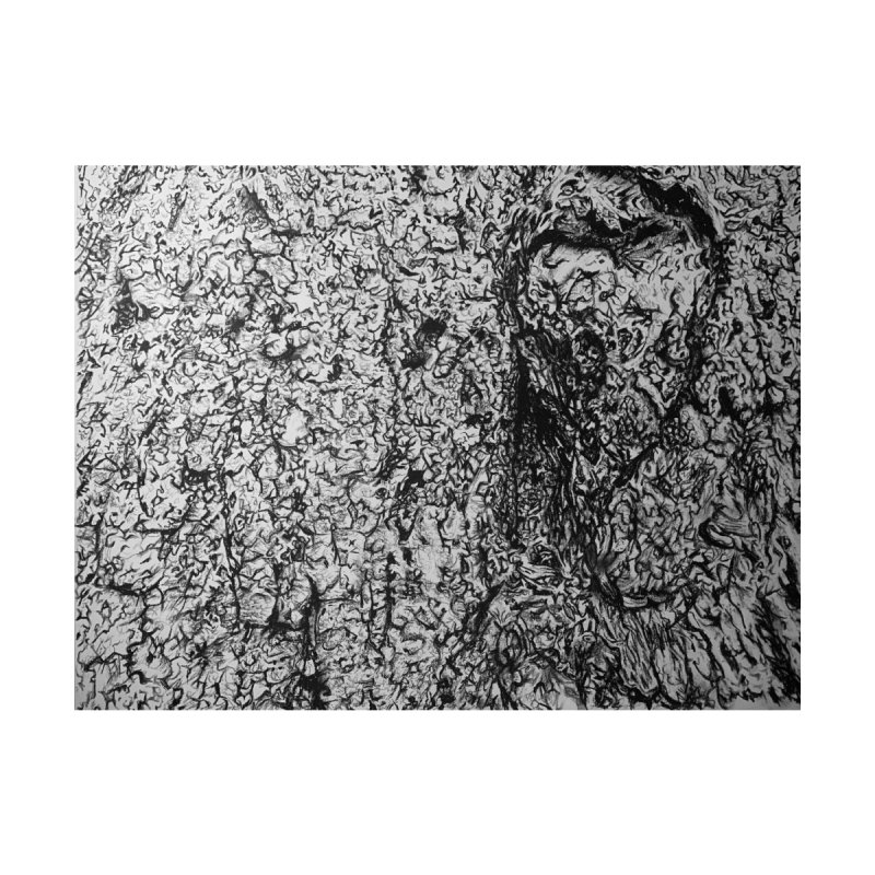 """charcoal tree bark 4"" all around Accessories Zip Pouch by Miss Jackie Creates"