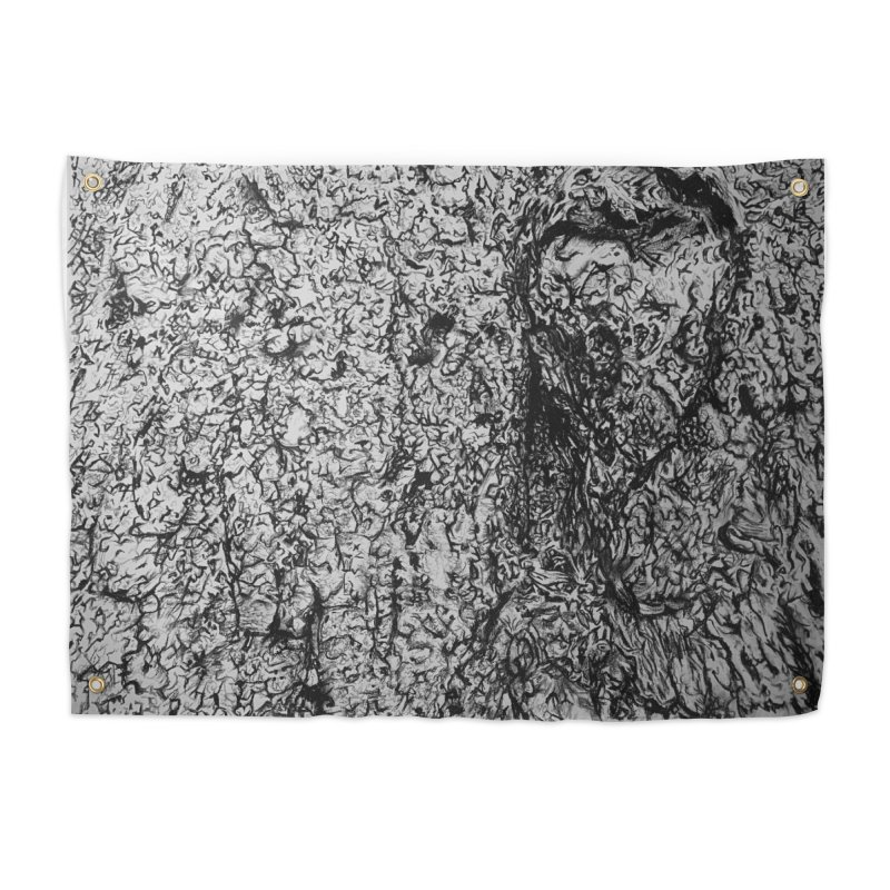 """""""charcoal tree bark 4"""" all around Home Tapestry by Miss Jackie Creates"""