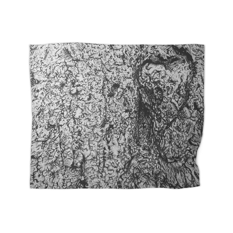 """""""charcoal tree bark 4"""" all around Home Blanket by Miss Jackie Creates"""