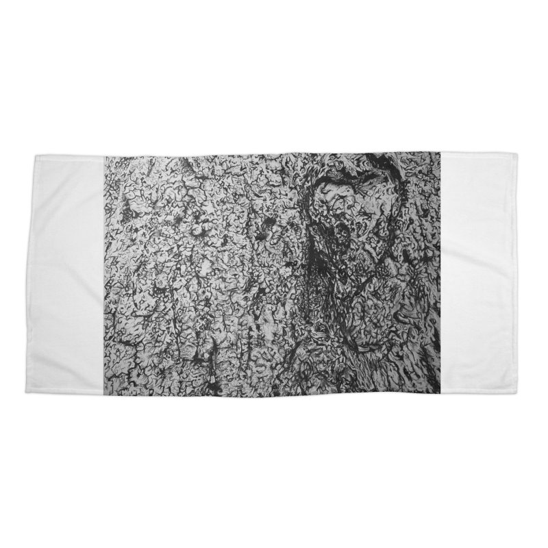"""""""charcoal tree bark 4"""" all around Accessories Beach Towel by Miss Jackie Creates"""