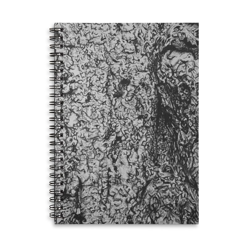 """""""charcoal tree bark 4"""" all around Accessories Notebook by Miss Jackie Creates"""