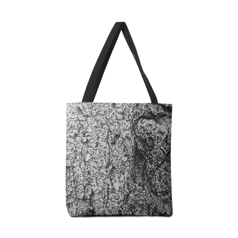 """charcoal tree bark 4"" all around Accessories Bag by Miss Jackie Creates"