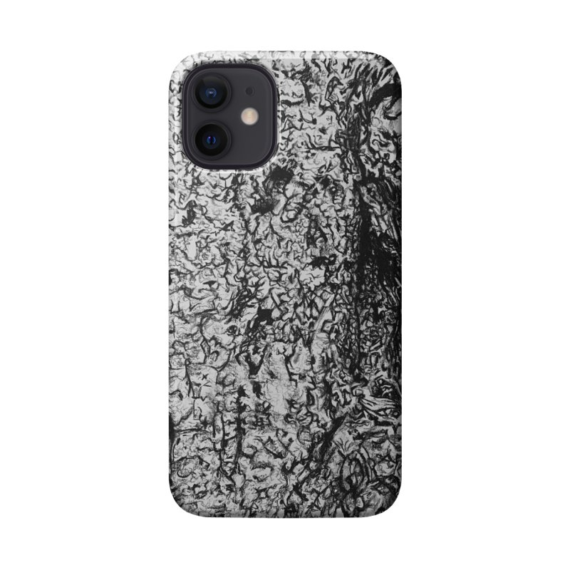 """""""charcoal tree bark 4"""" all around Accessories Phone Case by Miss Jackie Creates"""