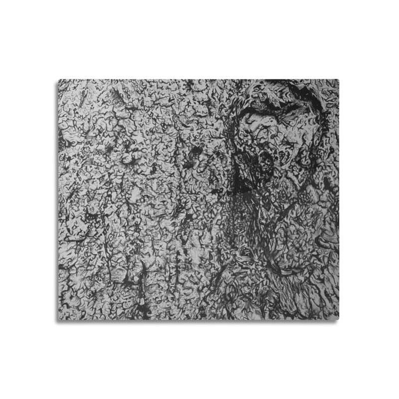 """""""charcoal tree bark 4"""" all around Home Mounted Acrylic Print by Miss Jackie Creates"""