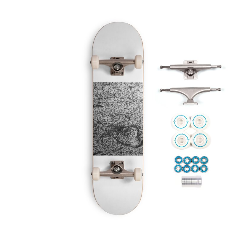 """""""charcoal tree bark 4"""" all around Accessories Skateboard by Miss Jackie Creates"""