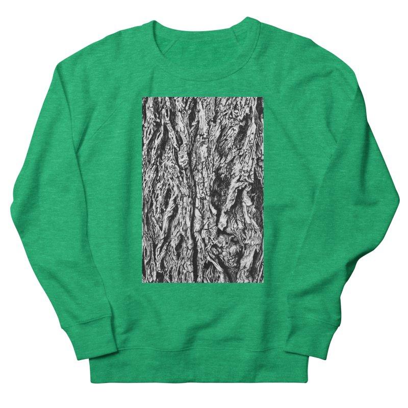 """charcoal tree bark 3"" all around Women's Sweatshirt by Miss Jackie Creates"