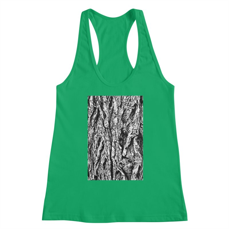 """""""charcoal tree bark 3"""" all around Women's Tank by Miss Jackie Creates"""