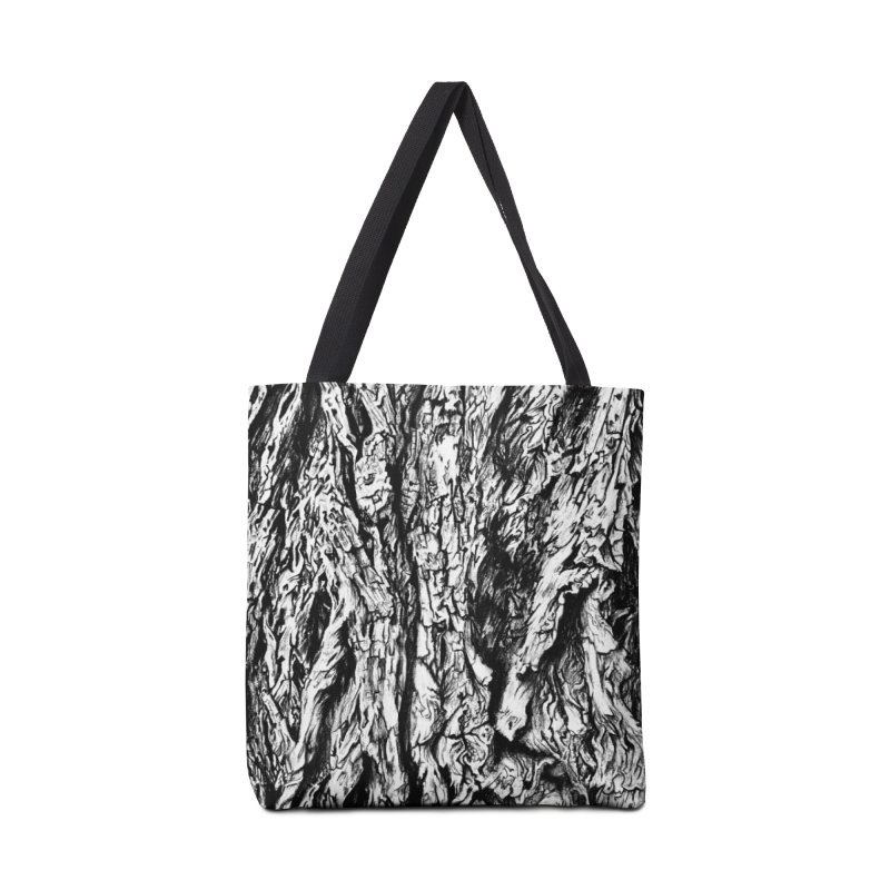 """""""charcoal tree bark 3"""" all around Accessories Bag by Miss Jackie Creates"""