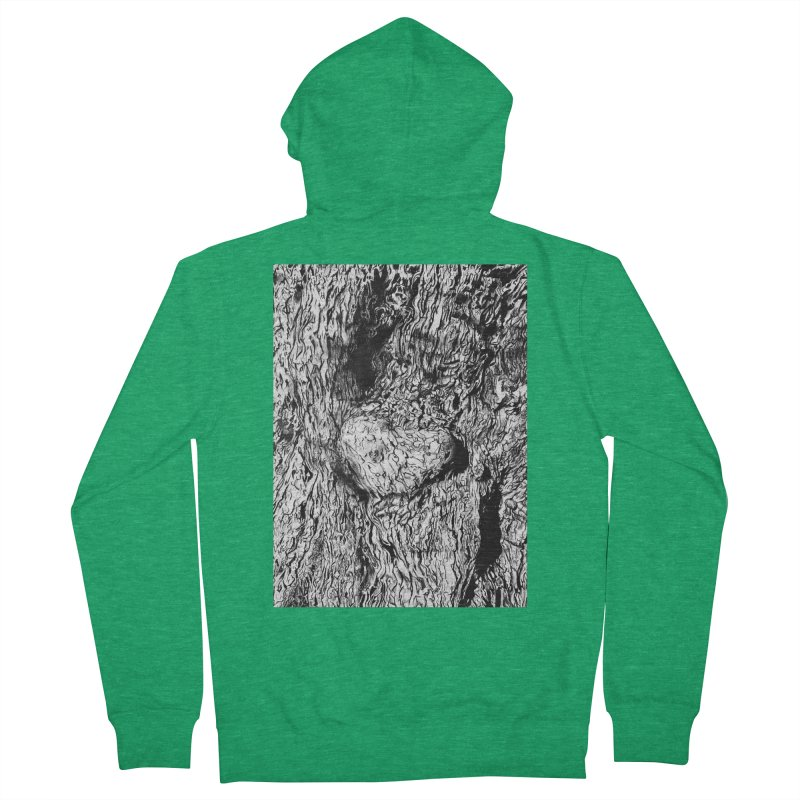 """""""charcoal tree bark 2"""" all around Women's Zip-Up Hoody by Miss Jackie Creates"""