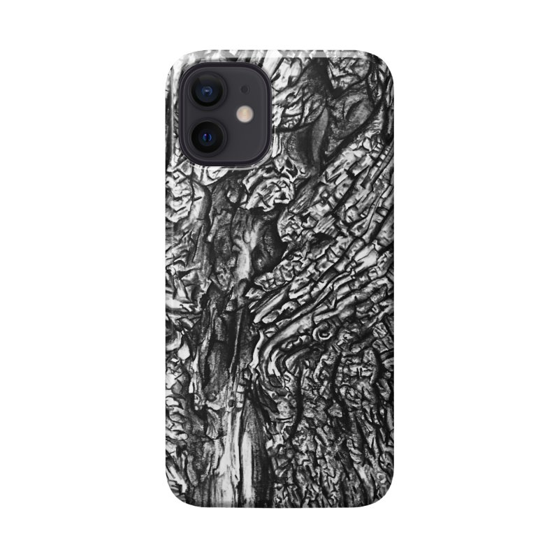 """""""charcoal tree bark 1"""" all around Accessories Phone Case by Miss Jackie Creates"""