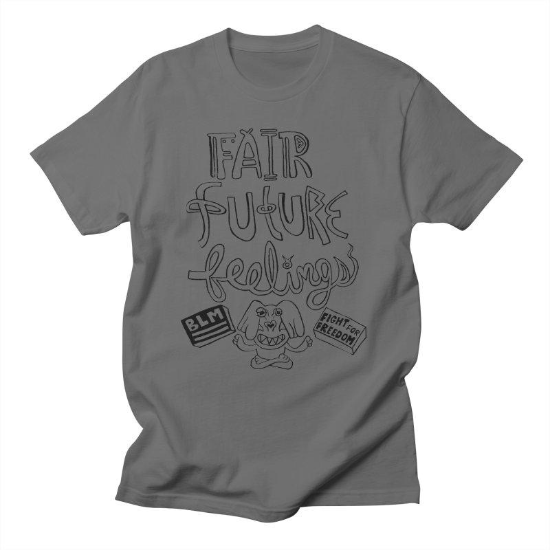 BLM fair future feelings Yogi Monster Fergie Men's T-Shirt by Miss Jackie Creates