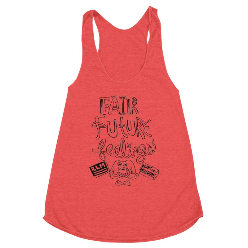 BLM fair future feelings Yogi Monster Fergie Women's Tank by Miss Jackie Creates