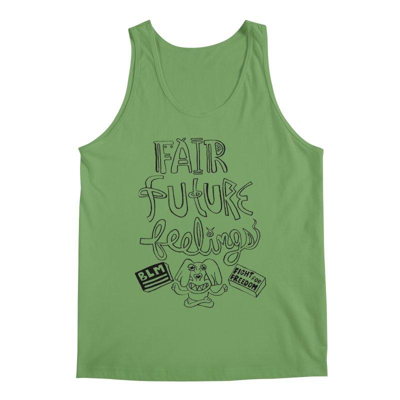 BLM fair future feelings Yogi Monster Fergie Men's Tank by Miss Jackie Creates