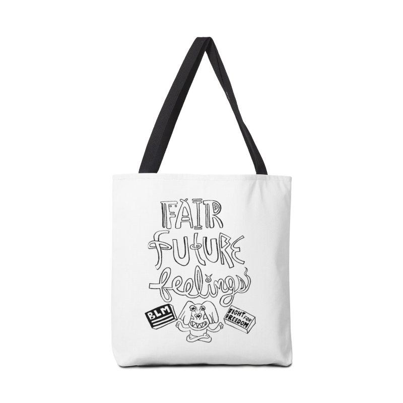 BLM fair future feelings Yogi Monster Fergie Accessories Bag by Miss Jackie Creates