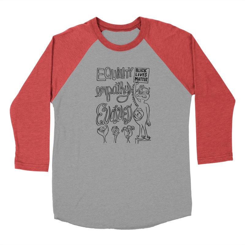 BLM equality empathy evolved with Yogi Monster Ellie Women's Longsleeve T-Shirt by Miss Jackie Creates
