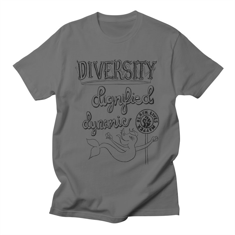 BLM diversity dignified dynamic with Yogi Monster Dexter Men's T-Shirt by Miss Jackie Creates