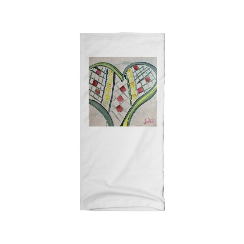 Heart Collaboration Canvas Accessories Neck Gaiter by Miss Jackie Creates