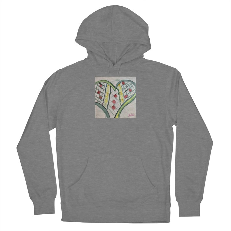 Heart Collaboration Canvas Women's Pullover Hoody by Miss Jackie Creates