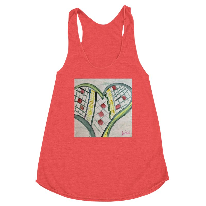 Heart Collaboration Canvas Women's Tank by Miss Jackie Creates