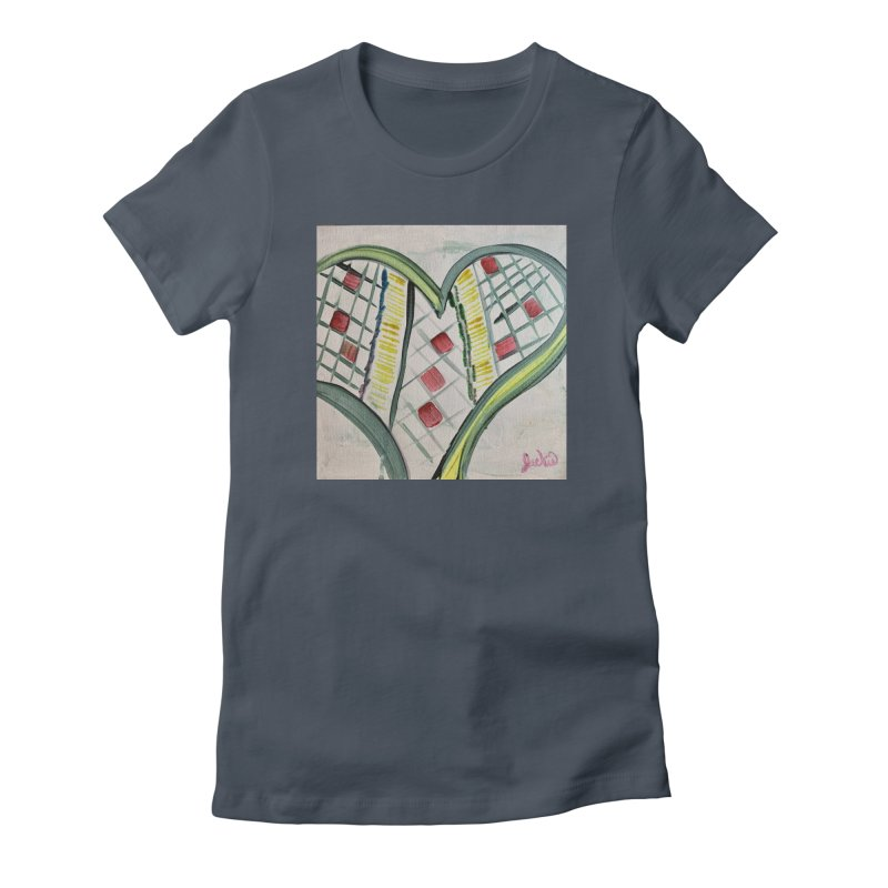 Heart Collaboration Canvas Women's T-Shirt by Miss Jackie Creates