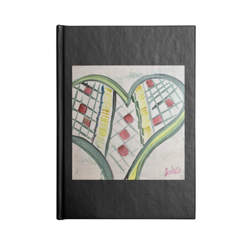 Heart Collaboration Canvas Accessories Notebook by Miss Jackie Creates