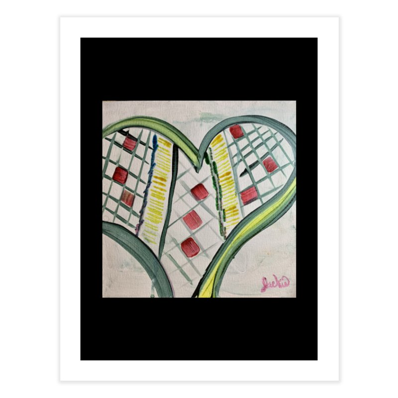 Heart Collaboration Canvas Home Fine Art Print by Miss Jackie Creates