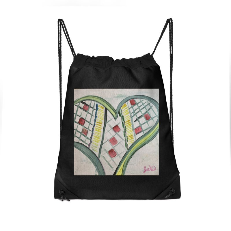 Heart Collaboration Canvas Accessories Bag by Miss Jackie Creates