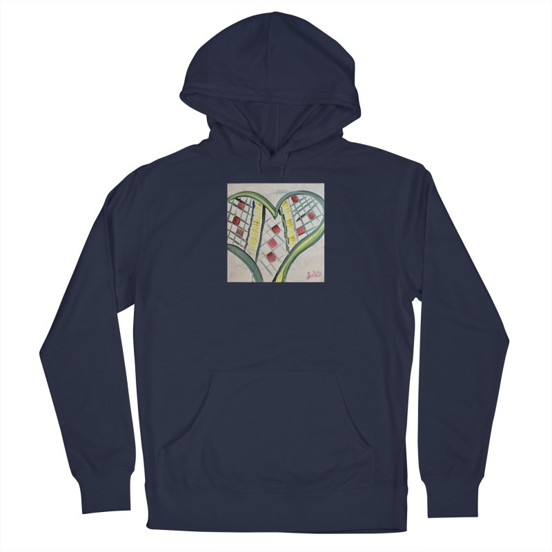 Heart Collaboration all around Men's Pullover Hoody by Miss Jackie Creates