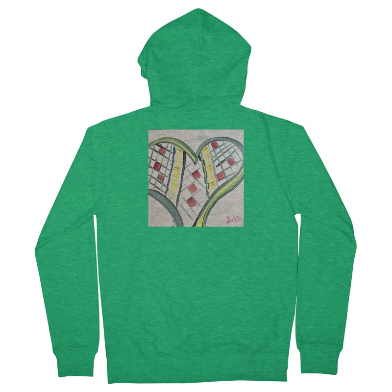 Heart Collaboration all around Women's Zip-Up Hoody by Miss Jackie Creates
