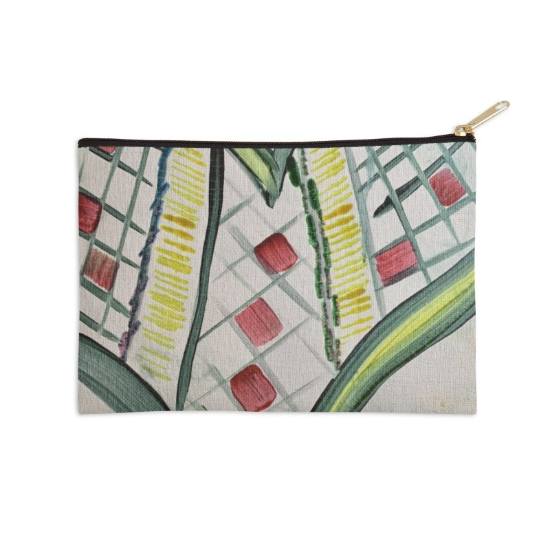 Heart Collaboration all around Accessories Zip Pouch by Miss Jackie Creates